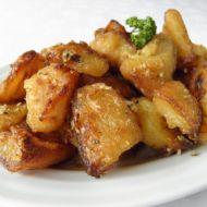 Křupavé rozmarýnové brambory recept