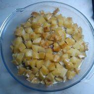 Zapečené brambory s kuřecími játry recept