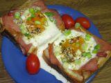 Toust s vejcem a slaninou recept