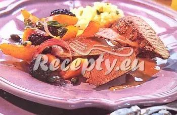Srnčí maso s broskvovou omáčkou recept  zvěřina