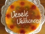 Velikonoční dort s ovocem recept