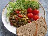Čočkový salát  light recept