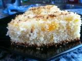 Ananasovo-mandarinkový koláč s kokosem recept