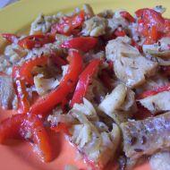 Treska na zelenině recept