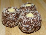 Kokosová očka s bílou čokoládou recept