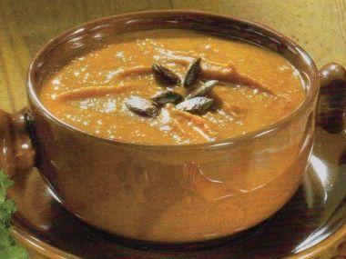 Krémová polévka hokaido podle Mitsuyo