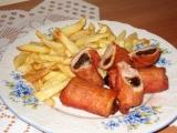 Adélčiny roládky se švestkama a anglickou slaninou recept ...
