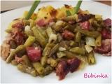Uzené maso ve fazolkách-rychlé a jednoduché recept