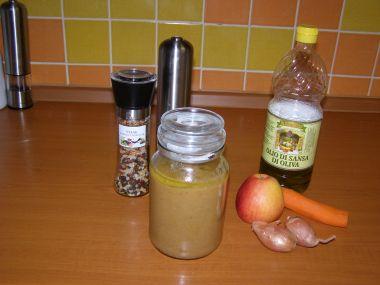 Jablkové chutney s mrkví