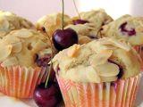 Třešňové muffiny s mandlemi recept