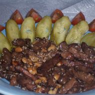 Vepřové nudličky v sezamu recept