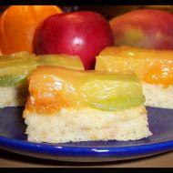 Jogurtovo-jablečný piškot recept