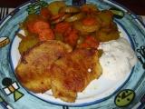 Pečené brambory s mrkví recept