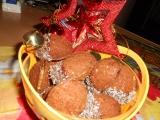 Plněné ořechy z kakaa recept