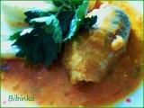 Vepřové roládky s trojím sýrem recept