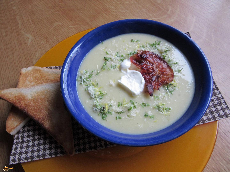 Krémová zelná polévka recept