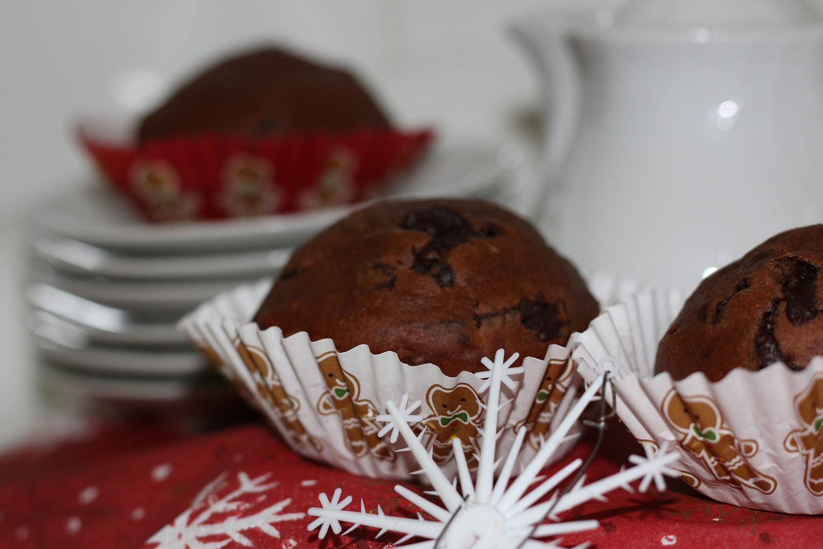 Muffiny s vůní čokolády recept