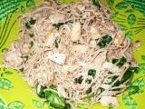Špagety Pangrattato recept