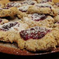 Ovesné koláčky se zavařeninou recept