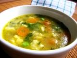 Blesková polévka s vaječnou jíškou recept