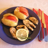 Pečený losos s rozmarýnem recept