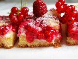 Rybízový koláč s tvarohem a drobenkou recept