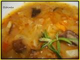 Bramboračka-houbovačka recept