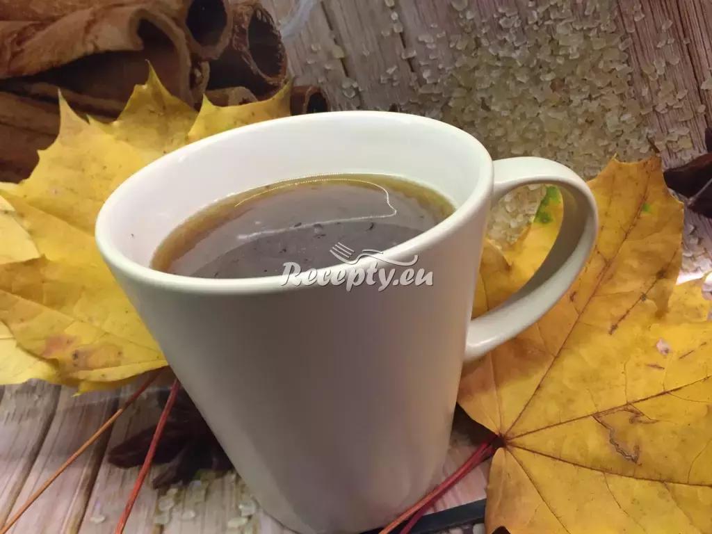 Domácí horká čokoláda recept  teplé nápoje