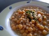 Cizrnová polévka recept