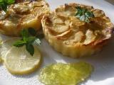 Glazované mascarponové koláčky s jablky recept