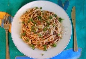 Papáčkovy špagety (těstoviny)
