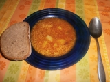 Gulášová polévka s čabajkou recept