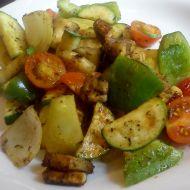 Zelenina z grilu recept