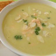 Celerová polévka s lososem recept