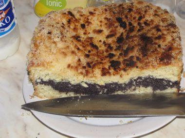 Bramborový koláč s mákem