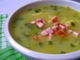 Pórkovo-bramborová polévka s Hraškou recept