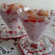 Třešňový pohár se smetanou recept