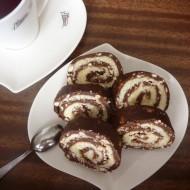 Nepečená piškotová roláda s kokosem recept