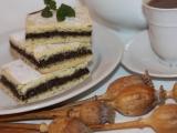 Makový koláč plněný recept