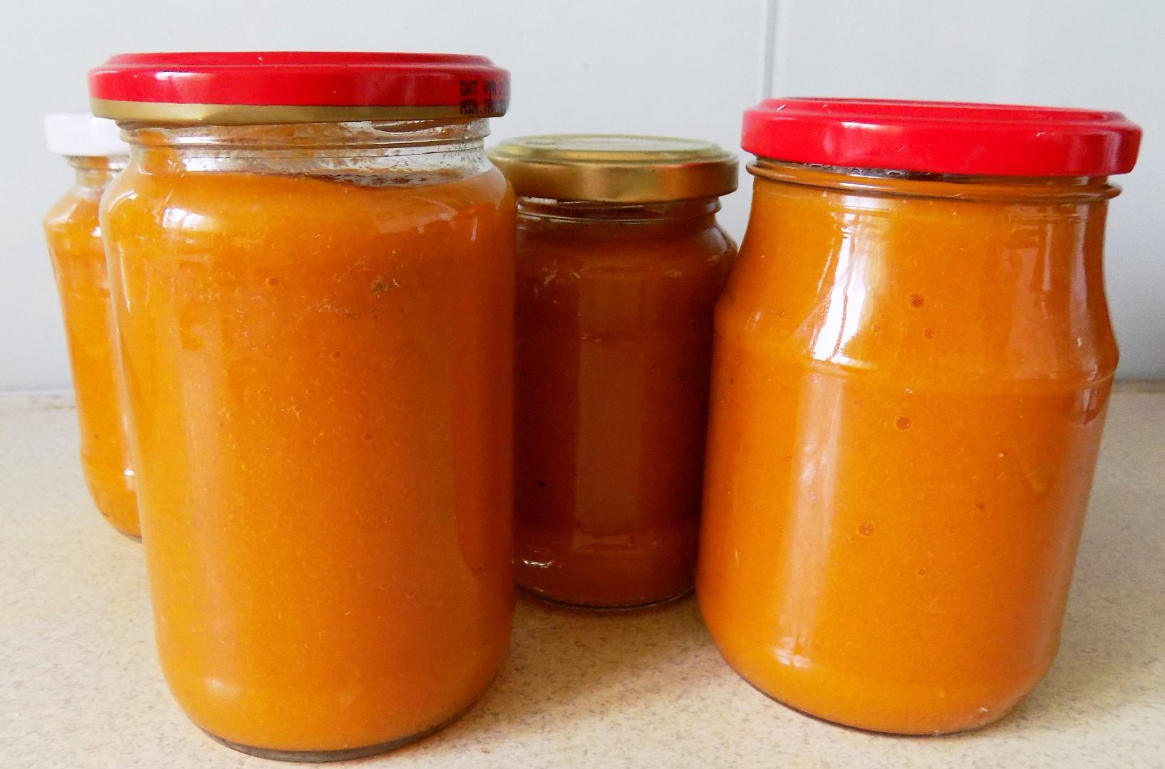 Meruňkovo  jablkovo  mrkvová přesnídávka recept