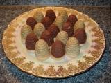 Piškotová vosí hnízda recept