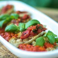 Quinoa se zeleninou a omáčkou z pečených paprik recept