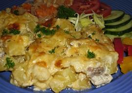 Zapečené brambory s mletým masem  jednoduché a chutné recept ...