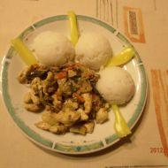 Kuřecí maso na zelenině recept