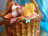Košík s houbami recept