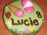 Piškotový dort pro dceru recept