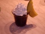 Čokoládové kelímky s mangem v parním hrnci recept