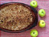 Jablečný crumble recept