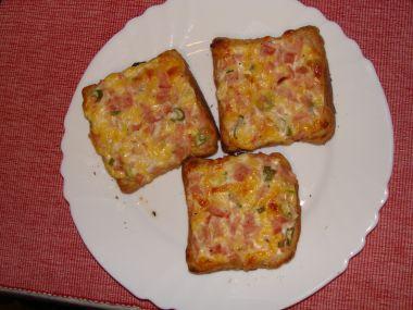 Opékané sýrové chlebíčky