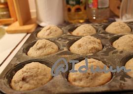 Oříškové muffiny  hrníčkový recept